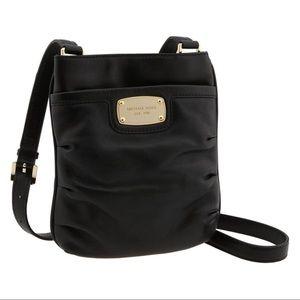 Michael Kors Black Gansevoort Crossbody Bag